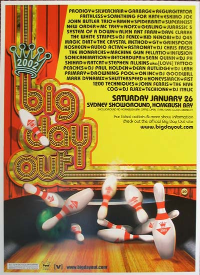 2002.01.26 – Big Day Out Festival, Sydney, Australia « The