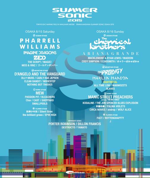 The Jon Spencer Blues Explosion – Summer Sonic Festival, Tokyo ...