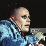 SAN BERNARDINO, CA - AUGUST 8:  Keith Flint of The Prodigy performs at Lollapalooza at the Glen Helen Raceway in San Bernardino, California on August 8, 1997. Photo by Jim Steinfeldt/Michael Ochs Archives/Getty Images)