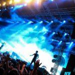 Keith Flint si Maxim de la The Prodigy in timpul concertului sustinut la a treia editie a festivalului Electric Castle desfasurat  la Castelul Banffy din localitatea Bontida judetul Cluj 28.06.2015 ©Cornel Putan